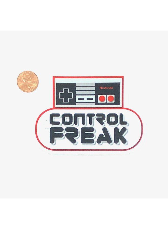 Control Freak Sticker