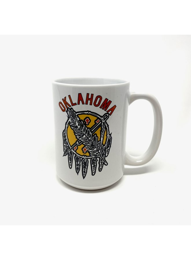 Oklahoma Shield Diner Mug