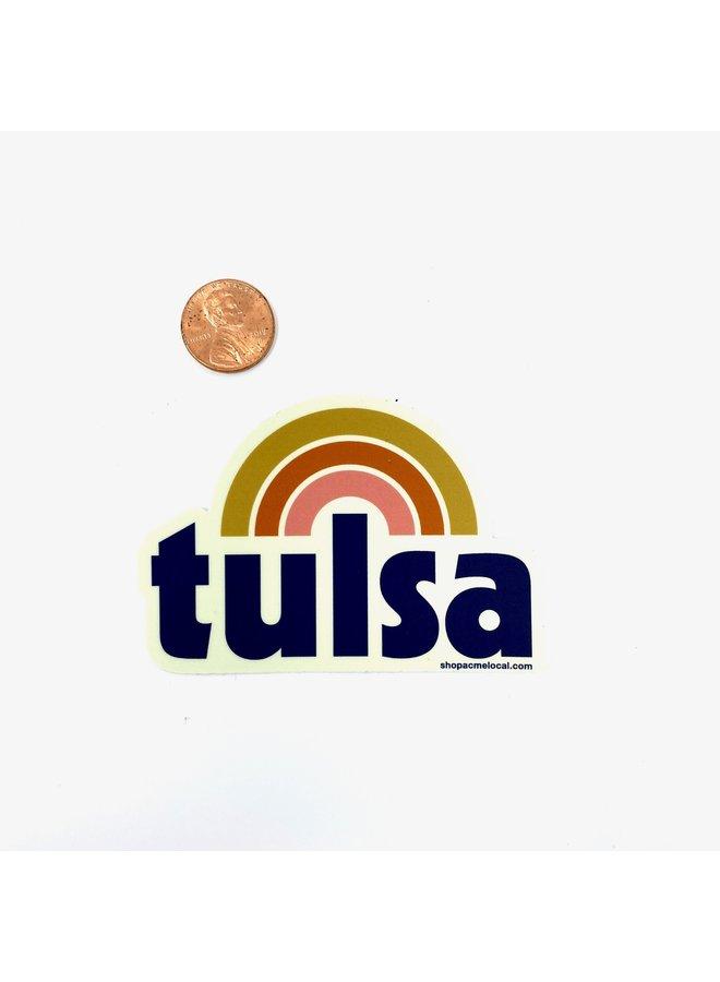 Tulsa Rainbow Sticker