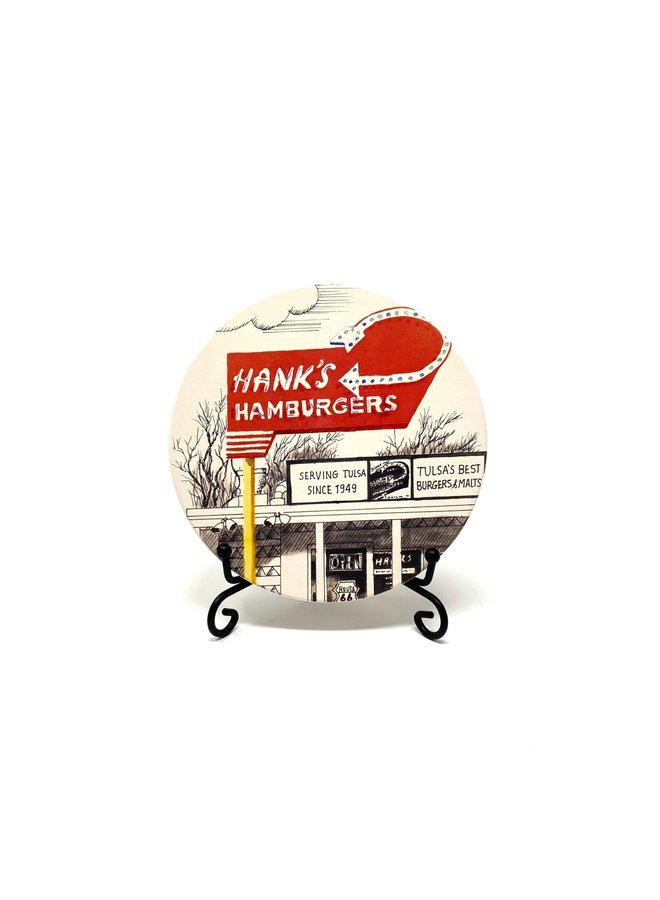 Hanks Hamburgers Coaster