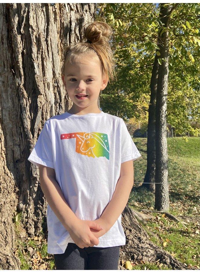Toddler Rainbow Unicorn Tshirt