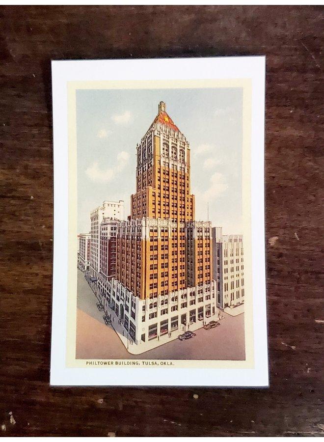 Philtower Tulsa Postcard