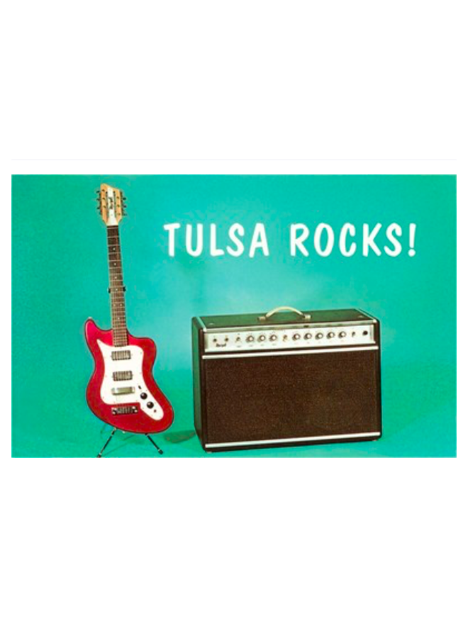 Tulsa Rocks Postcard