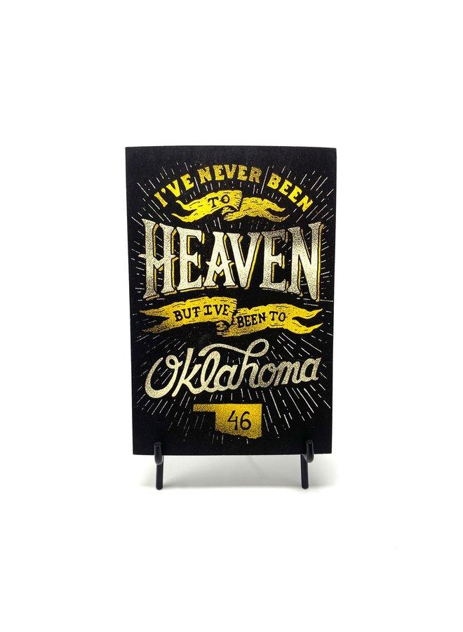 Heaven Postcard