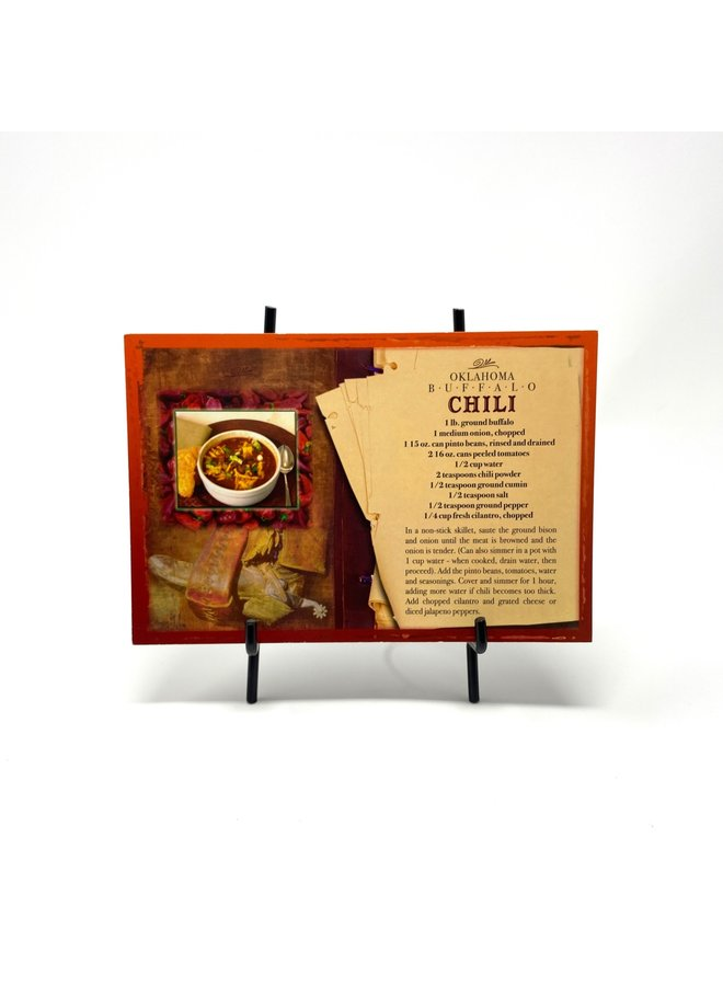 OK Buffalo Chili Postcard