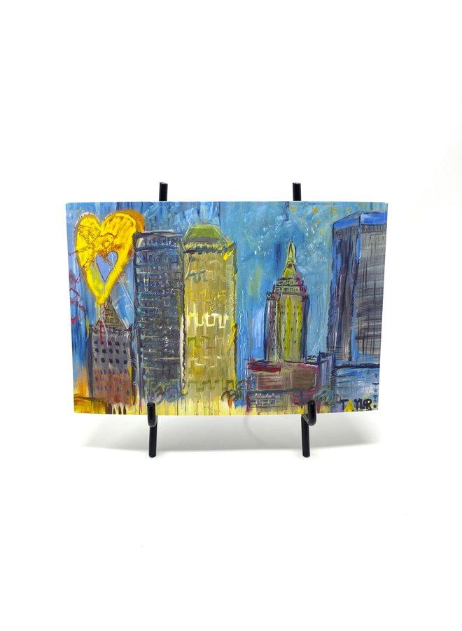 Tulsa Skyline Postcard Scott Taylor