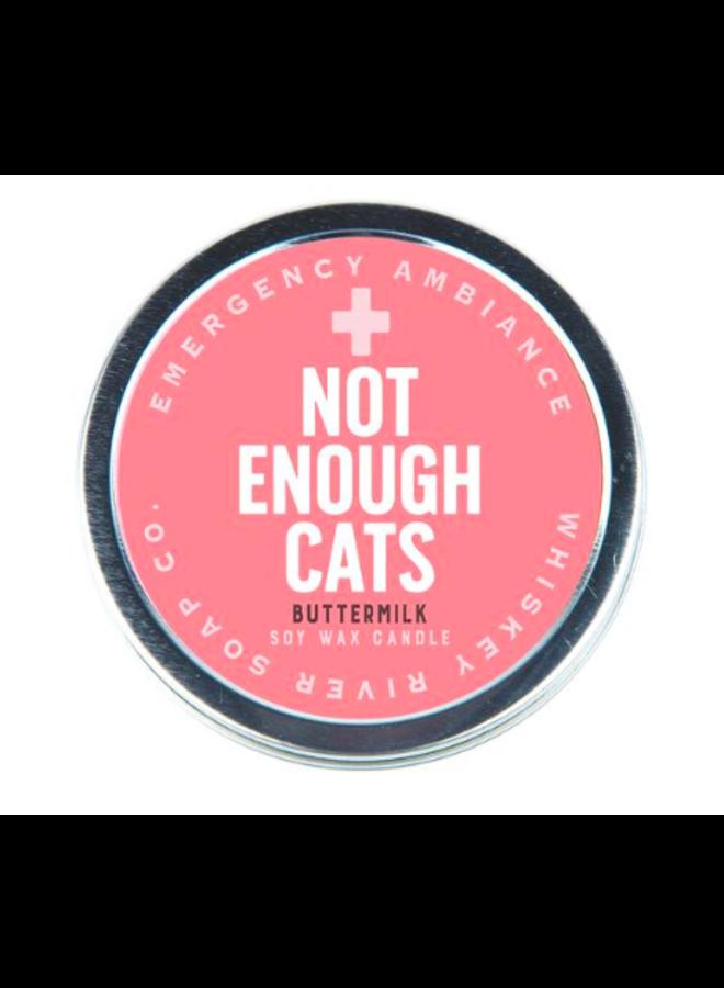 Not Enough Cats Candle Tin