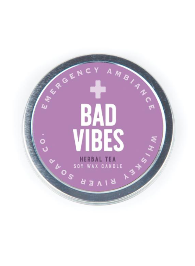 Bad Vibes Candle Tin
