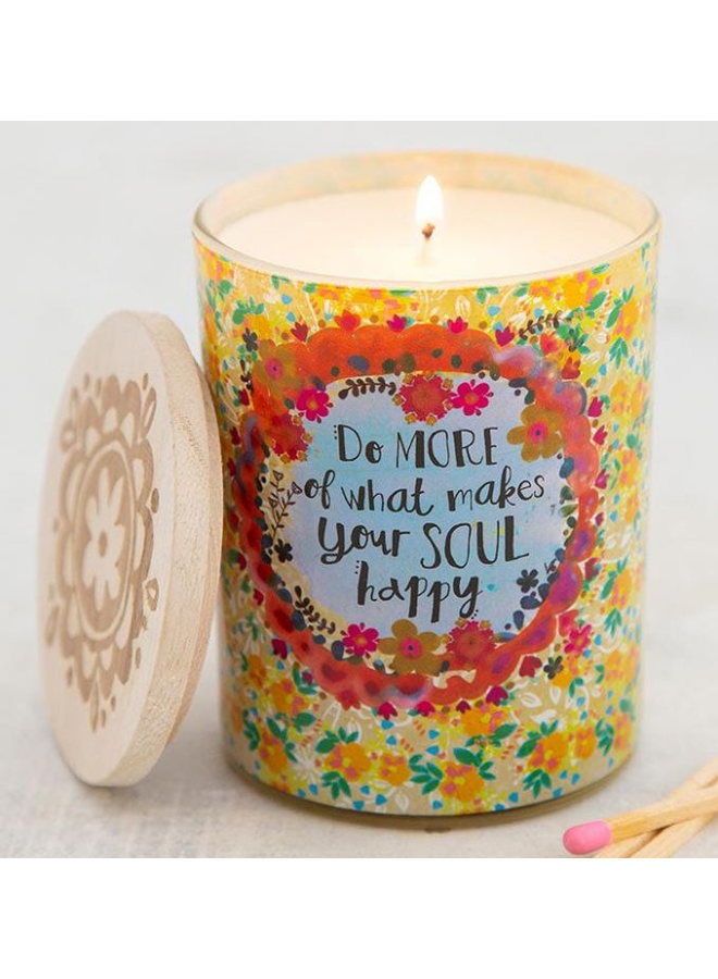 Do What Makes You Happy Soy Candle
