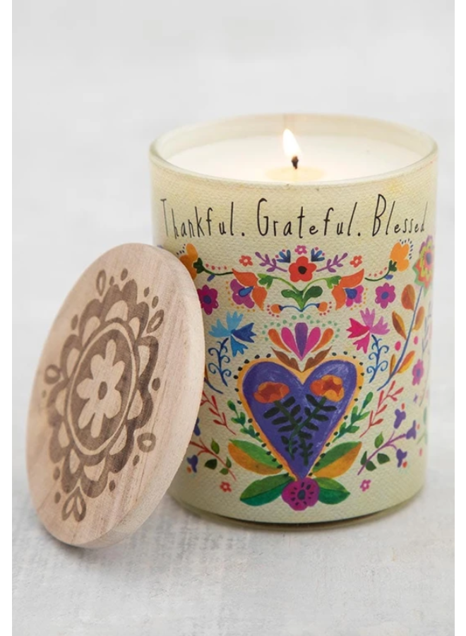 Thankful Blessed Soy Candle