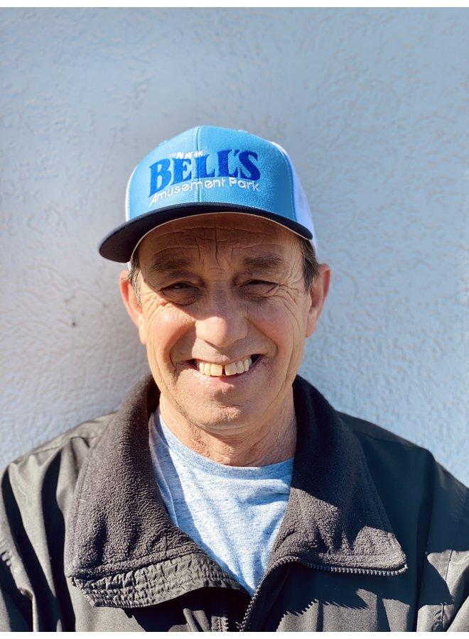 Bells Snapback Trucker Hat - Columbia Blue