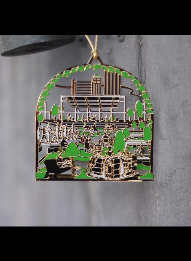 Guthrie Green Ornament 2015