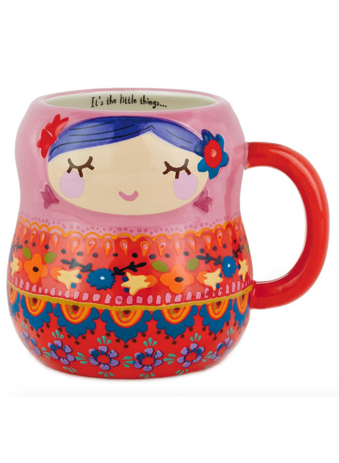 Nesting Doll Folk Mug