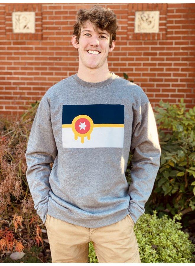 Tulsa Flag Sweatshirt
