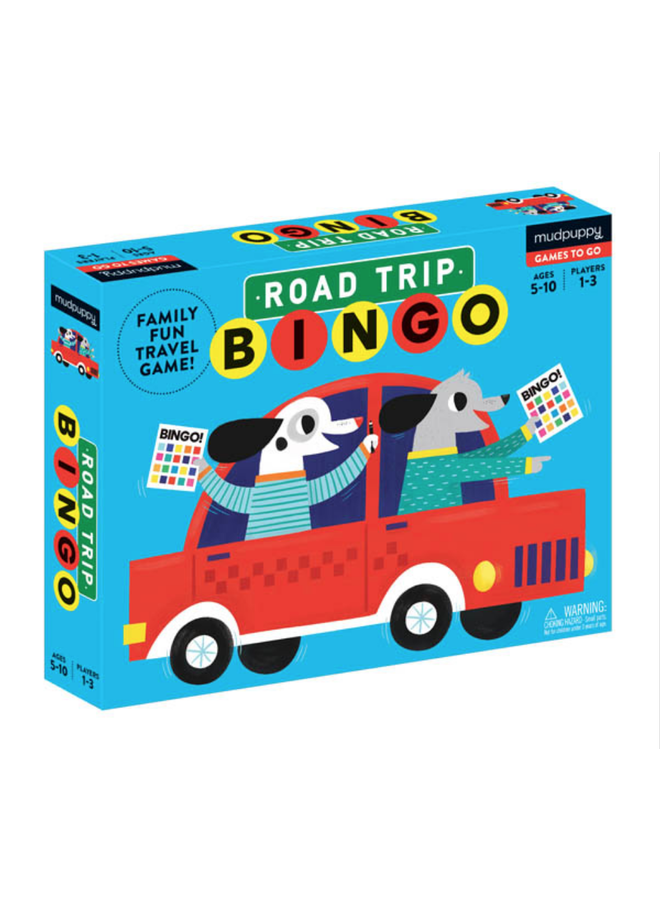 Game Bingo Road Trip