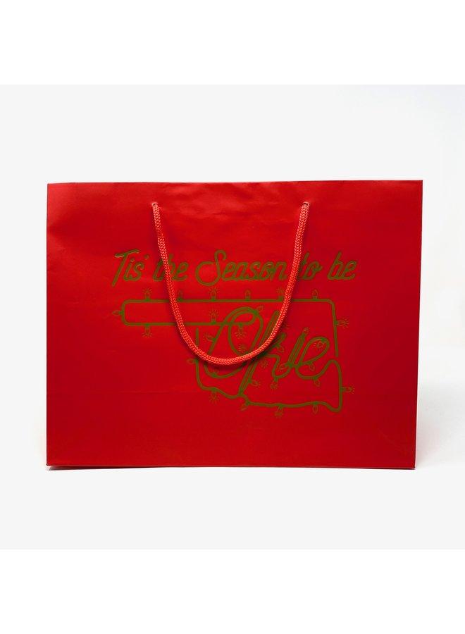 Tis The Season To Be Okie Gift Bag