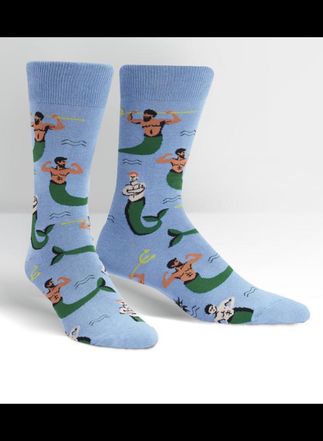 Mermen Mens Crew Socks