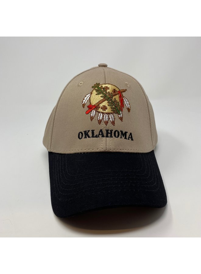 OK Osage Shield Adult Structured Hat