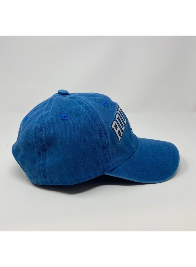 Route 66 Washed Caribbean Blue Hat
