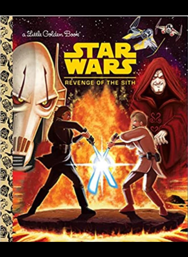 Star Wars Revenge of the Sith Little Golden Book