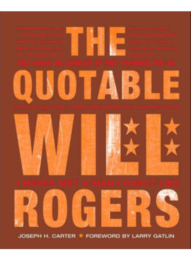 The Quotable Will Rogers Books