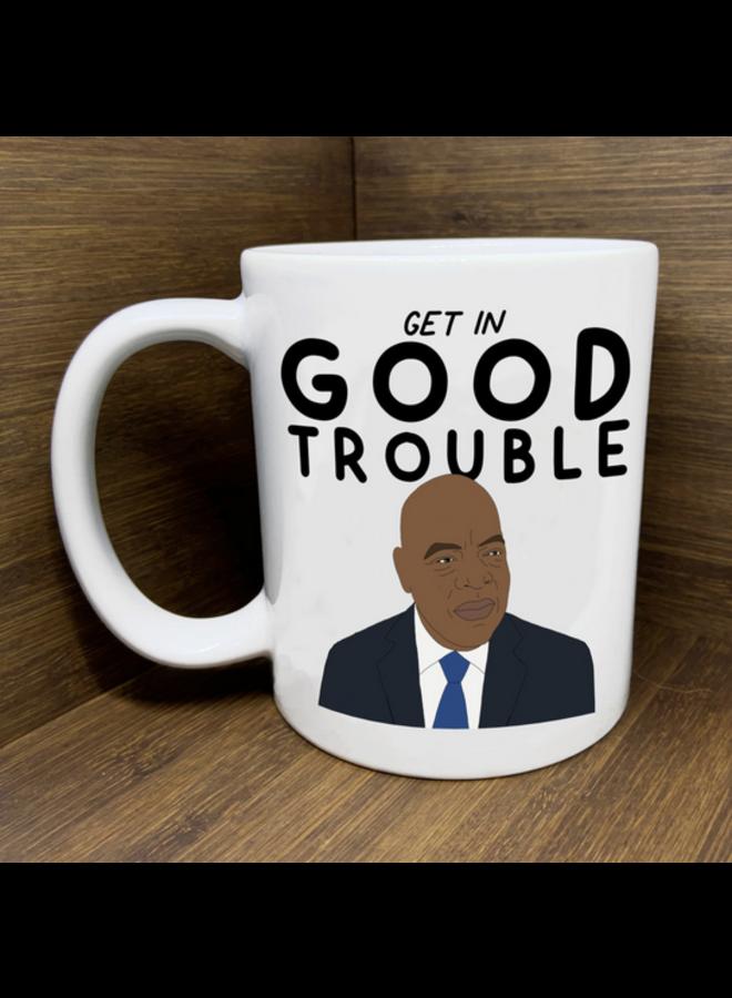 John Lewis Good Trouble Mug