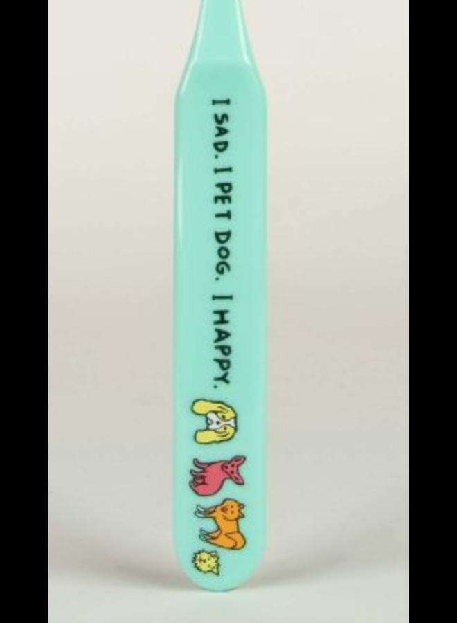 I Pet Dog Toothbrush