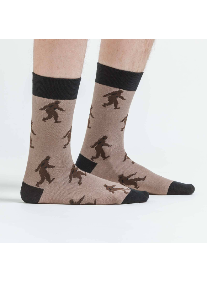 Sasquatch Mens Crew Socks