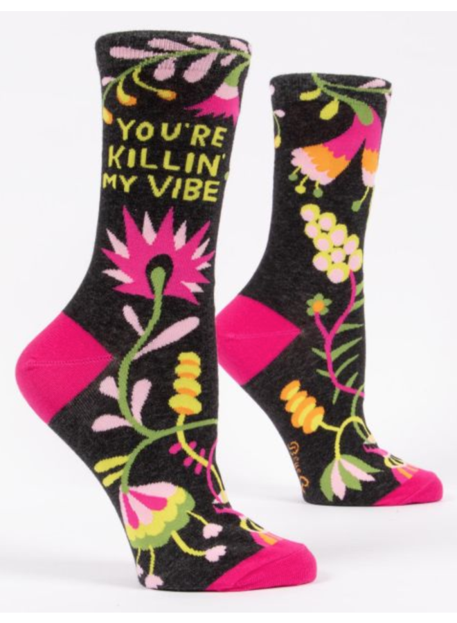 Kilin My Vibe Crew Socks