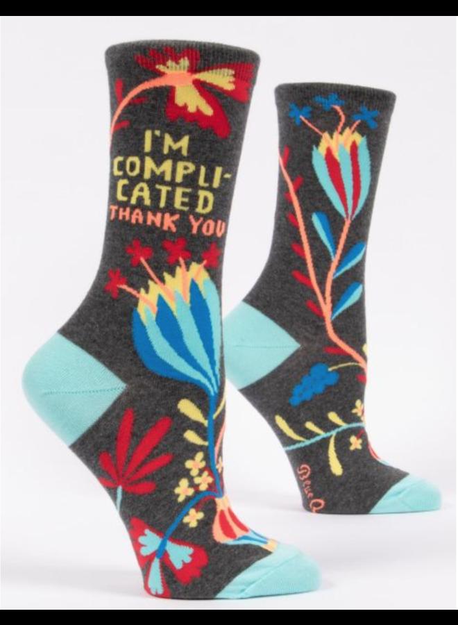 I'm Complicated Women's Crew Socks
