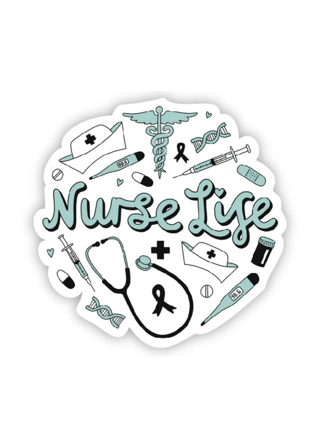 Nurse Life Sticker