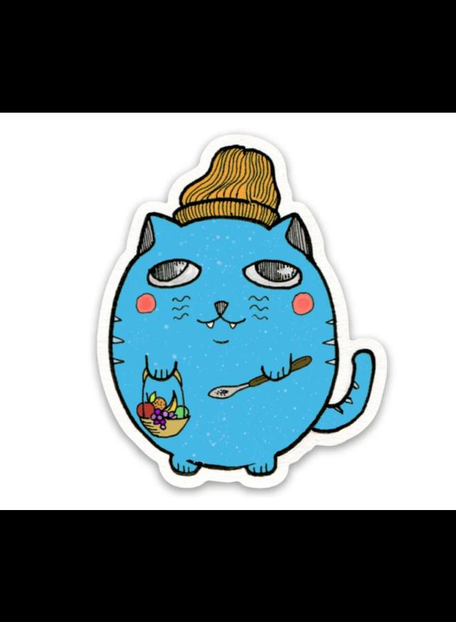 Chill Cat Sticker