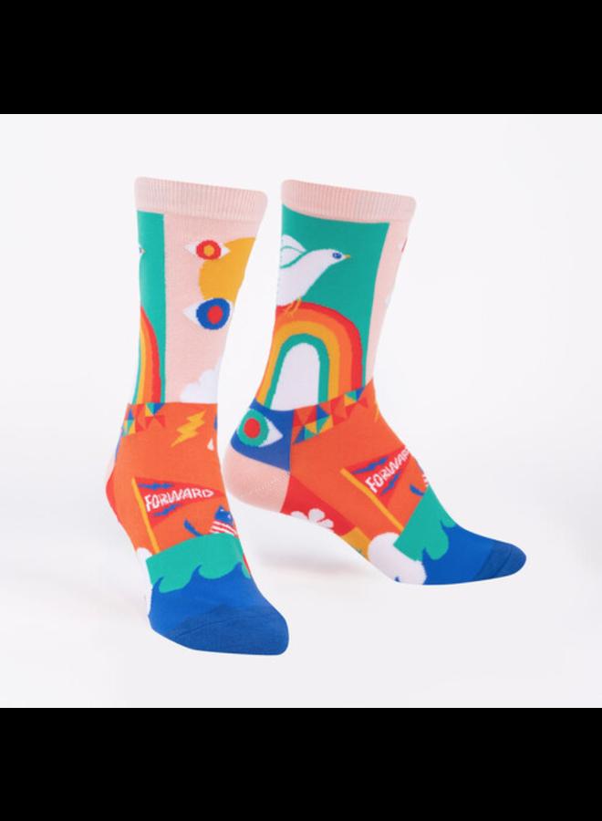 Peace And Love Women's Crew Socks