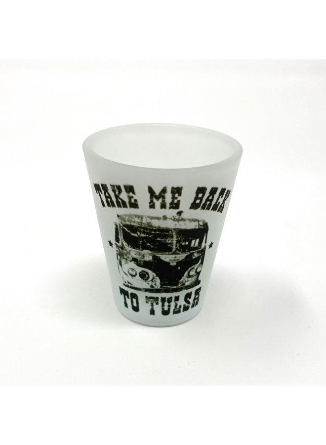 Take Me Back Shot Glass