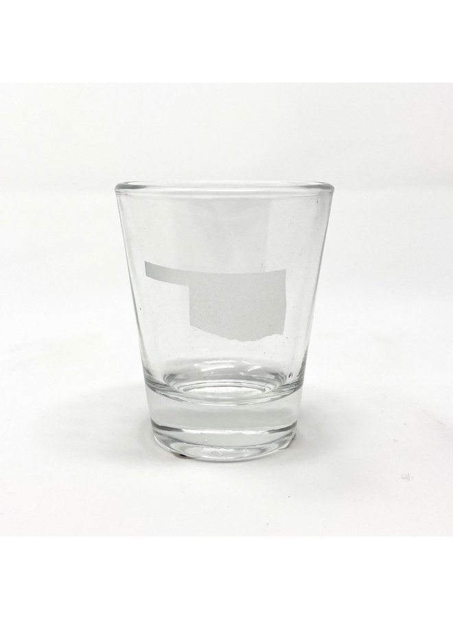 Oklahoma Shot Glass