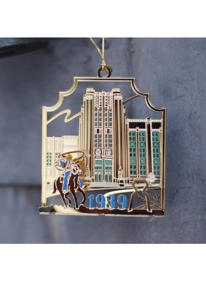 Will Rogers High Ornament 2014