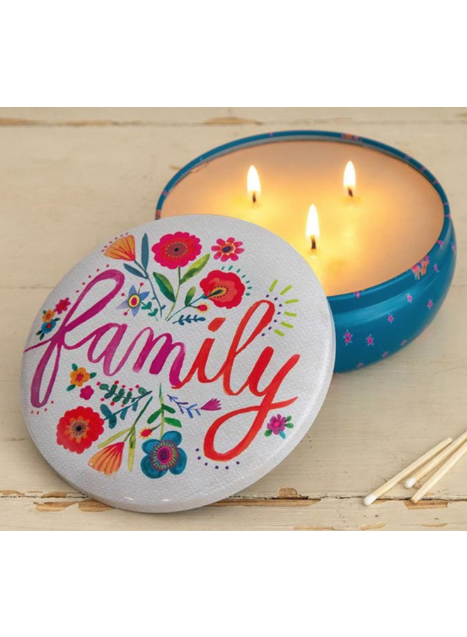 Family Candle Tin