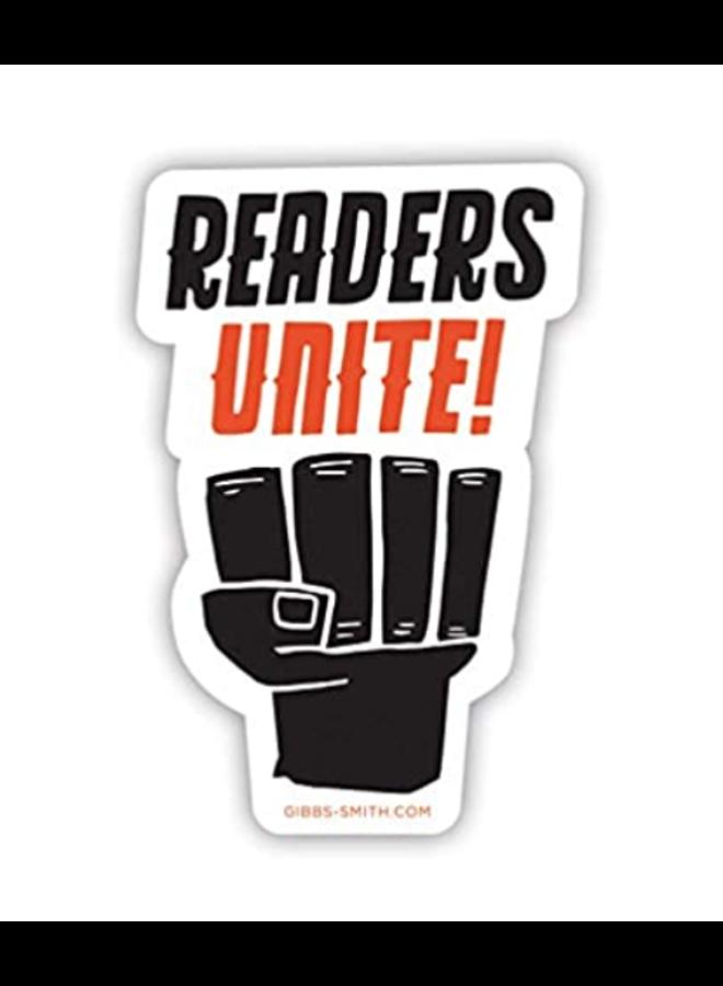 Readers Unite Sticker