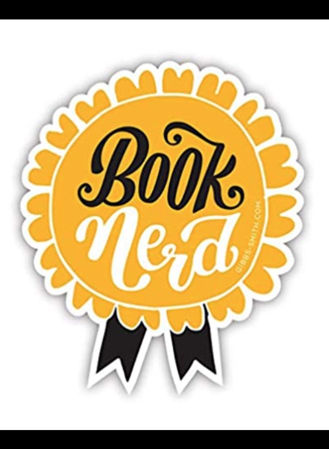 Book Nerd Sticker
