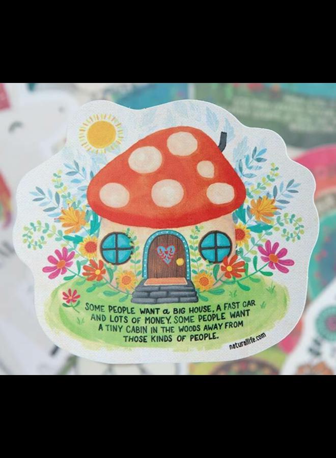 Tiny Cabin Sticker