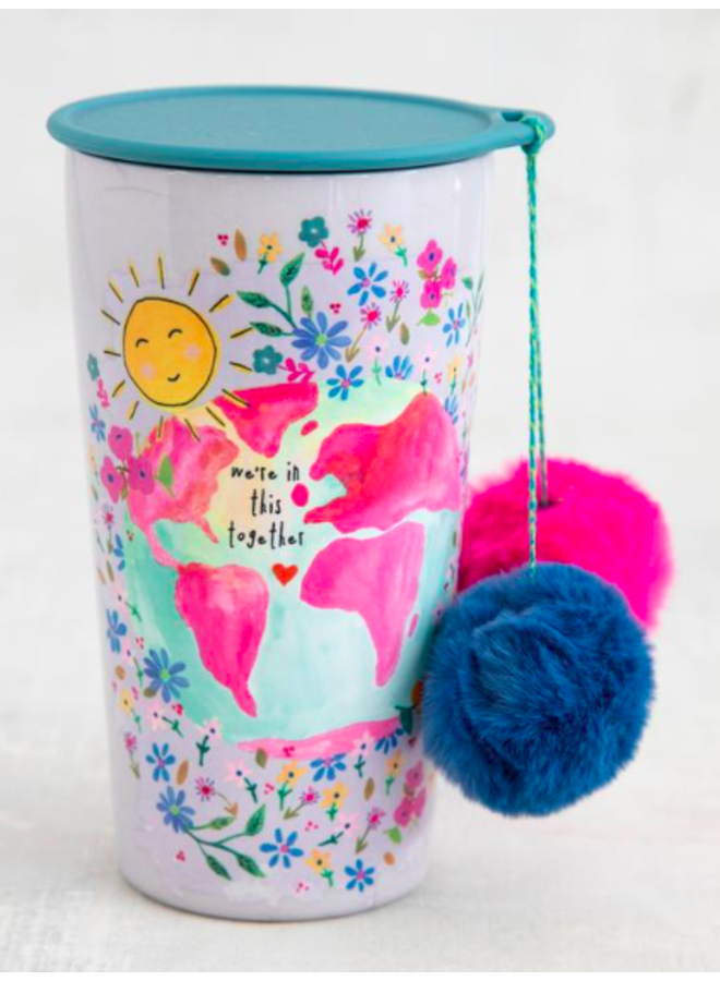 In This Together PomPom Tumbler