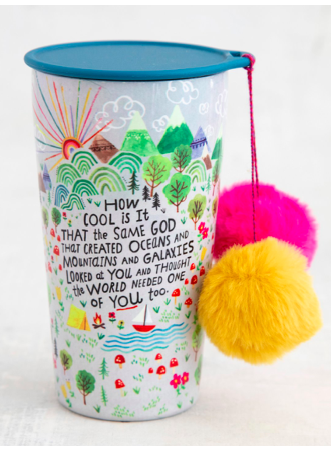 How Cool Is It PomPom Tumbler