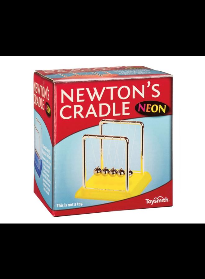 Neon Newtons Cradle
