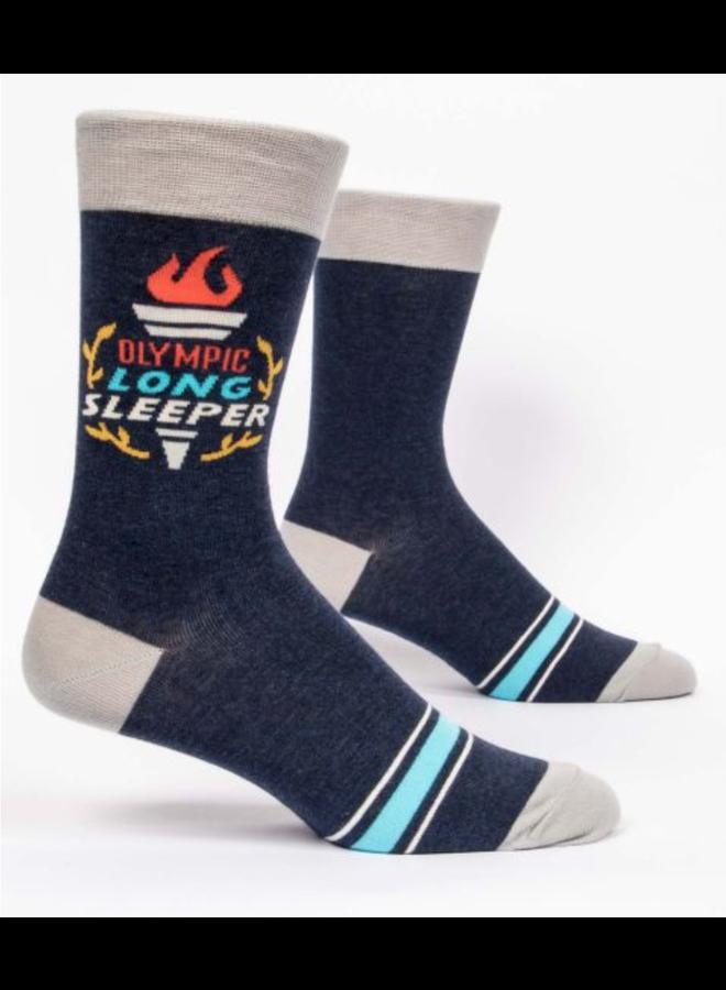 Olympic Long Sleeper Men's Socks