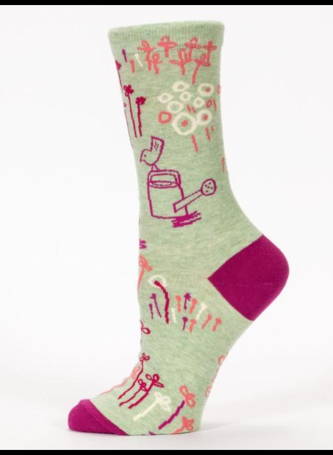 Fucking Love It Garden Women's Crew Socks