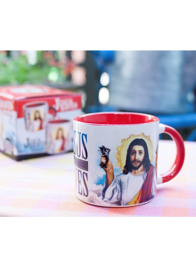 Jesus Shaves Mug