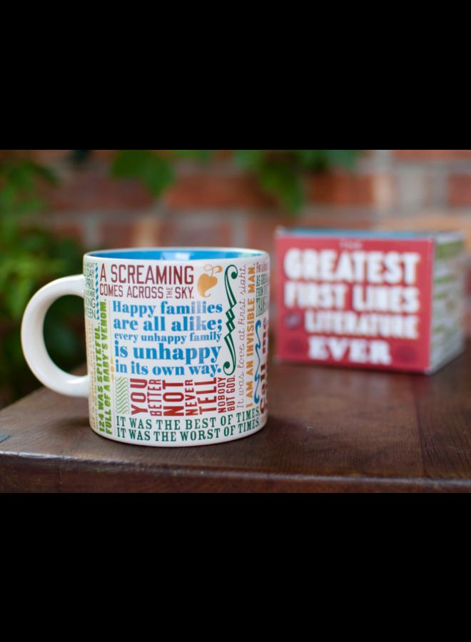 First Line Literature Mug