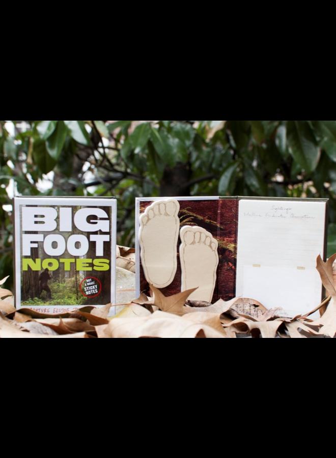Bigfoot Sticky Notes