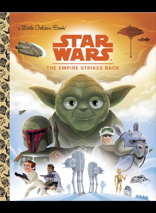 Star Wars The Empire Strikes Back Little Golden Book