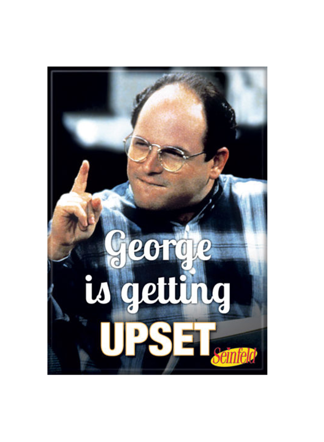 Seinfeld George Upset Magnet